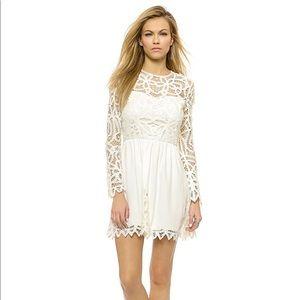 Saylor Josie Ivory Lace Dress